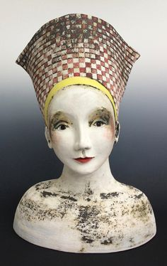 Sally MacDonell_contemporary ceramics_ceramic art_Bath_Heads