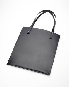 "SILLEKNOTTE - handmade leather - ""Hebert"" tote bag"