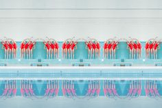 Maria Svarbova Captures The Sterile, Geometric Beauty Of Swimming Pools  #mariasvarbova #photography #slovakia #sports #swimming #swimmingpool #watersports