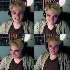 Gerard Way, video stills of Wacom stream, July, 2014.