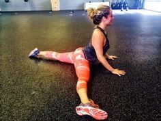 Kathryn Budig's Favorite Hip + Psoas Stretch  :::   cause mine are always jacked!!!