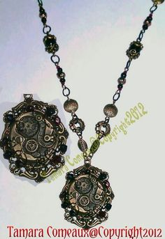 Handmade Steampunk Victorian Style Wrapped Wire by TheFleshArtist, $43.00