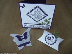 Kommunionkarte Stampin Up Give Away Tischkarte Table place