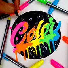 WEBSTA @ el_juantastico - That's my game. #tbt #neon #80s #type #typography #ilovetype #illustration #illustratedmonthly #typographyinspired #thedailytpe #thedesigntip #designspiration #sharpie #color #typespire #typegang #ilovetype #tipografia #inspiration #artist_magazine #art #lefty #goodtype #calligritype #handmade