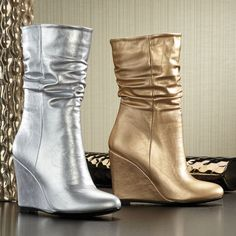 Twist Boot by Donnabella from Midnight Velvet.  Confident Style. Beautiful You. www.midnightvelvet.com