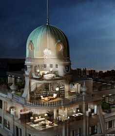 Cupola living - 141 Fifth, NYC
