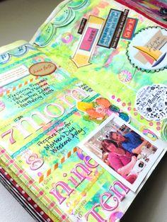 Planner page week 19 Sandi Keene