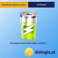 """""""Jak długo musisz ładować swoją baterię?""""  #niemiecki #jezykniemiecki #języki #podróże #niemcy #berlin #hamburg #fraknfurt #monachium #edukacja #germany #german #zagranico #emigracja #polonia #polska #świat #przygoda #niemieckionline #wiedza #szkoła #korepetycje"""