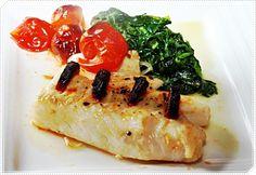 Chez Marlies Geniessen mit den Jahreszeiten: Kabeljaurücken mit Chorizo gespickt