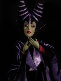 One of my favorite villians from Disney, Malificent is in my collection as well.