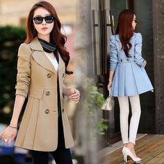 winter outfits hijab Classy Winter Outfits Ideas For Women Business - Zine 365 Classy Winter Outfits, Warm Outfits, Iranian Women Fashion, Korean Fashion, Dress Coats For Women, Mode Swag, Hijab Style Dress, Pink Trench Coat, Gown Pattern
