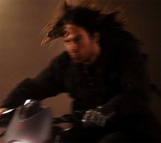 That hair though <-- Bucky with the good hair