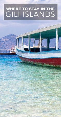 The Gili Islands, Bali