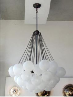 Balloon chandelier: Remodelista