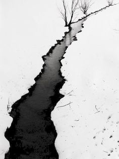 Othmar Herbst - Paysage Hivernal (Winter Landscape), ca. pinned with Bazaart Abstract Photography, Landscape Photography, All Nature, Black N White Images, Look At You, Black And White Photography, Monochrome, Photo Art, Scenery