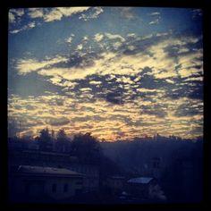 morning. como. italy