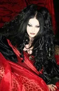Gothic. Goth. Women