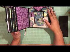 Walk Through of 6x6 Mini Album using Fresh Linen by Colorbok - YouTube