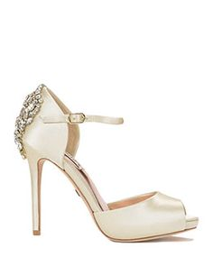 Dawn Peep Toe Ankle Strap Evening Shoe