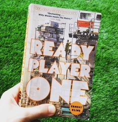 Ready Player One. Just finished first chapter. Soooo good!!!