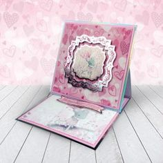 Card created using Hunkydory Crafts' A Mice Adventure Craft Stack Arts And Crafts, Paper Crafts, Card Crafts, Kanban Crafts, Handmade Birthday Cards, Handmade Cards, Hunkydory Crafts, Shaped Cards, Easel Cards