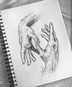 Cool Art Drawings, Pencil Art Drawings, Art Drawings Sketches, Drawing Ideas, A Level Art Sketchbook, Arte Sketchbook, Drawing Journal, Human Art, Aesthetic Art