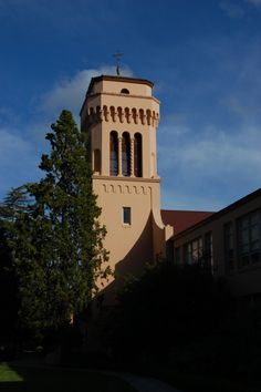 Sequoia High School - Redwood City, Ca.  Oh my....I haven't seen this bell tower since 1975.