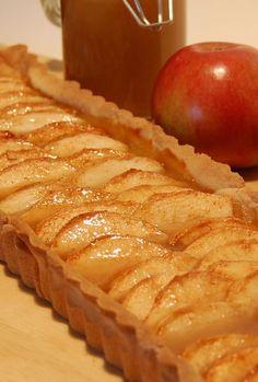 Caramel, Gluten Free Desserts, Diane, Apple Pie, Quiche, Healthy Recipes, Vegan, Tarte Fine, Lactose