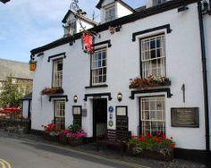 Red Lion Inn - 15th Century - Hawkshead's oldest pub