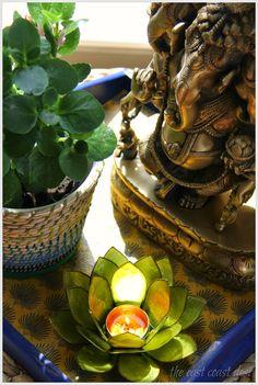 the east coast desi: Glitzing it up for Diwali (Festive decor Ideas)