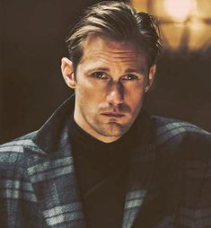 The Alexander Skarsgard Library  - alexskarsgardnet:   Man of the World has shared...