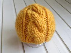 Newborn Mustard Yellow Chunky Wool Knit by StitchinTimeBoutique, $24.00