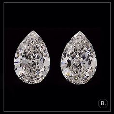 Now available at BAUNAT: Matching pair of pear shaped white diamonds. These diamonds are perfect for the creation of the tailor-made diamond earrings you have always dreamed of. Price: Upon request  Please click on the following two urls to see the 3D view of these two diamonds:  http://ift.tt/22KQkJW http://ift.tt/1JXBuV3.  #BAUNAT #SmartInEveryWay #DiamondJewelry #Diamonds #PearShapedDiamond #Engagement #Proposal #Wedding #EngagementRing #Inspiration #GiftIdeas #Luxury #luxurylifestyle…
