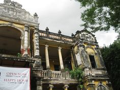 City of Four Faces #ColonialArchitecture http://happyfrogtravels.com/city-of-four-faces-phnom-penh-cambodia/