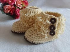 Handmade Crochet Baby Shoes Crocheting Baby Shoes by MiniBeeBee