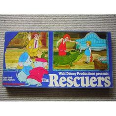 The Rescuers board game
