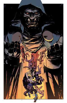 Original Sin #4 - Dr. Doom by Alex Maleev