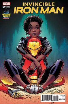 Scott Campbell came under fire recently for a Midtown Comics EXCLUSIVE variant cover for Invincible Iron Man depicting teen Riri Williams in a way Marvel Comics, Marvel E Dc, Marvel Girls, Marvel Heroes, Marvel Universe, Cosmic Comics, Marvel Women, Black Characters, Comic Book Characters