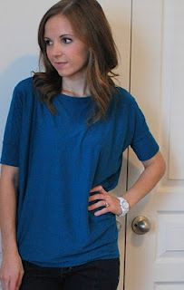Dolman Sleeve Top (Tutorial)