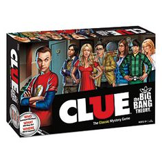 Big Bang Theory Clue. Oh I want one!!!