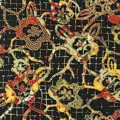 Robert Kaufman Fabrics: AHDM-8761-91 CRIMSON by Heidi Dobrott from Formosa