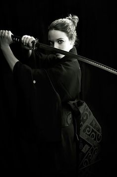 ☆Katana Female Warrior ☆