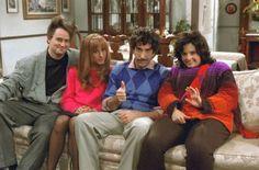 80s flashback on Friends