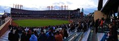 San Francisco Giants AT Park panorama from the bleachers