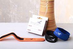 Summer must have! Get your StingCut Mosquito Repellent Bracelet in orange, black or blue!