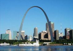 St. Louis Arch.  St. Louis, Missouri