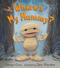 Little Mummy gets lost from his Mummy.  He meets some interesting characters looking for her.