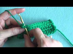 How To: Reverse Single Crochet (reverse sc) - YouTube