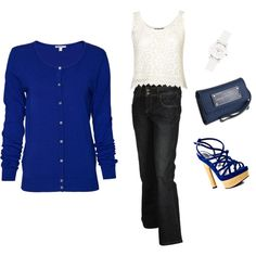 Blues, created by lakem.polyvore.com