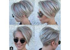 Galeria krótkich fryzur damskich z grzywką. Fryzury pixie, asymetryczne, z wygolonym bokiem. Przegląd najmodniejszych krótkich fryzury damskich prosto z salonu.